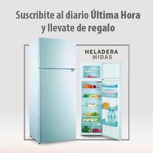 Imagen de Plan mensual de diarios de lunes a viernes + una heladera midas de 300 lts
