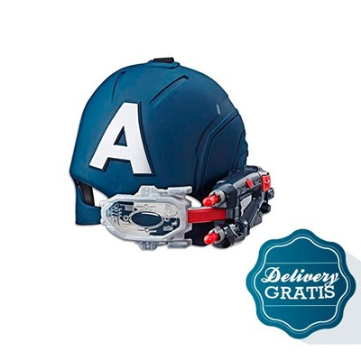Imagen de Mascara Capitan America Scope Vision Helmet + 10 dias de diario