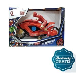 Imagen de Iron man motocicleta de friccion + 10 días de diarios