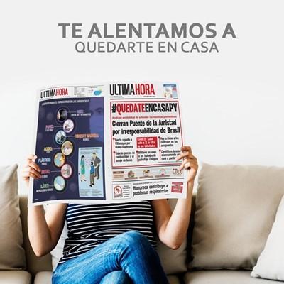 Imagen de #QUEDATEENCASA CON ULTIMA HORA