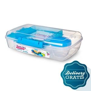 Imagen de Bento box to go 1,76 l c/ mini recipiente + cinco días de diarios