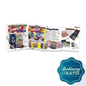 Imagen de Fasciculos Como aprender a dibujar comics y manga